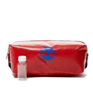 Timberland Tarp Tree Travel Kit TOILETRY Bag Red